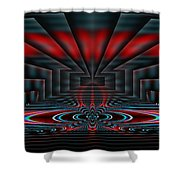 Setting The Stage Shower Curtain