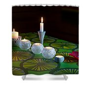 Seven Candles Shower Curtain