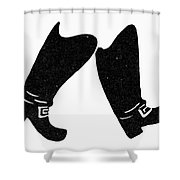 Seven League Boots Shower Curtain