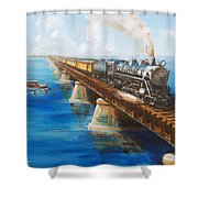 Seven Mile Bridge Shower Curtain