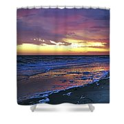 Seven Minutes On The Beach Shower Curtain