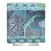 Seven Of Cups Shower Curtain