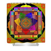 Seven Rays Of Healing 2013 Shower Curtain