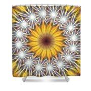 Seven Sistars Of Light K1 Shower Curtain