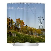 Seven Sisters Pinawa Shower Curtain