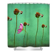 Seven Stems Shower Curtain