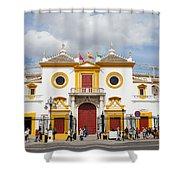 Seville Bullring In Spain Shower Curtain