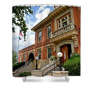Sewickley Municipal Hall Shower Curtain