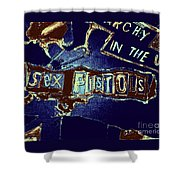 Sex Pistols - Anarchy In The Uk Shower Curtain