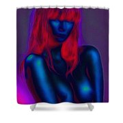 Sexy Babe Shower Curtain