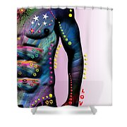 Sexy Card  Shower Curtain