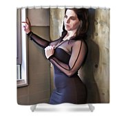 Sexy Curves Shower Curtain