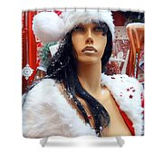 Sexy Santa Shower Curtain