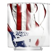 Sexy Stars And Stripes Shower Curtain