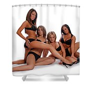 Sexy Times 4 Shower Curtain