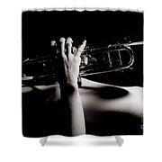 Sexy Trumpet Shower Curtain