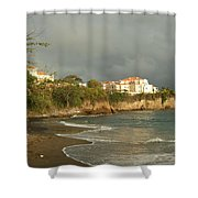 Sgu Library Storm Clouds Shower Curtain