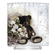 Shabby One Shower Curtain