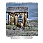 Shack At Bodie Shower Curtain