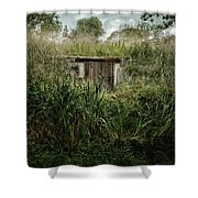 Shack In The Park Shower Curtain