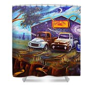 Shade Tree Hot Rods Shower Curtain