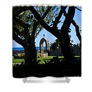 Shaded Solitude Shower Curtain