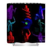 Shades Of A Gypsy Shower Curtain