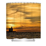 Shades Of Dawn Shower Curtain