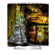 Shades Of Light And Color Shower Curtain