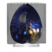 Shades Of Midnight Shower Curtain