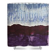 Shades Of New Mexico Original Painting Shower Curtain