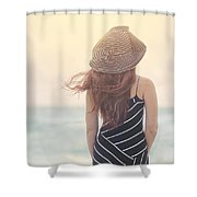 Shades Of Yesterday Shower Curtain