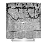 Shadow And Shape No.110 Shower Curtain