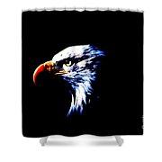 Shadow Eagle Shower Curtain