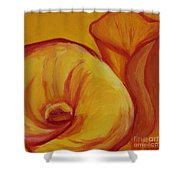 Shadow Lily Shower Curtain