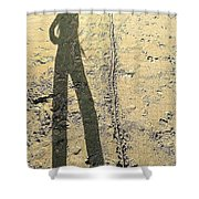 Shadow No.22 Shower Curtain
