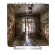 Shadow Of Its Forma Self Shower Curtain