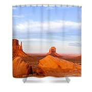 Shadow Of The Past Shower Curtain