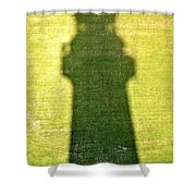 Shadow Of Tybee Lighthouse Shower Curtain