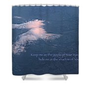 Shadow Of Your Wings Shower Curtain by Kume Bryant