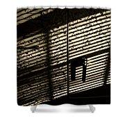 Shadow Patterns Shower Curtain