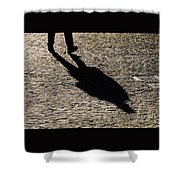 Shadow People # 3 Shower Curtain