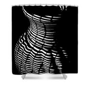 Shadow Urn Shower Curtain