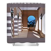 Shadows At Tuckers Point, Bermuda Shower Curtain