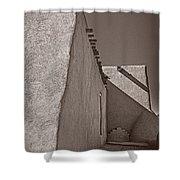 Shadows In Palladium Shower Curtain