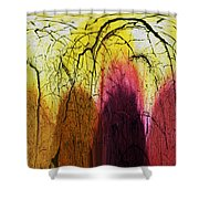 Shadows In The Grove Shower Curtain