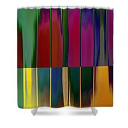 Shadows In The Material World Shower Curtain