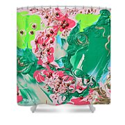 Shadows Of My Youth Shower Curtain
