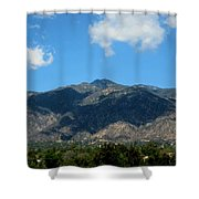 Shadows Of San Gabriel Shower Curtain
