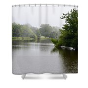 Shadows On The Lake Shower Curtain
